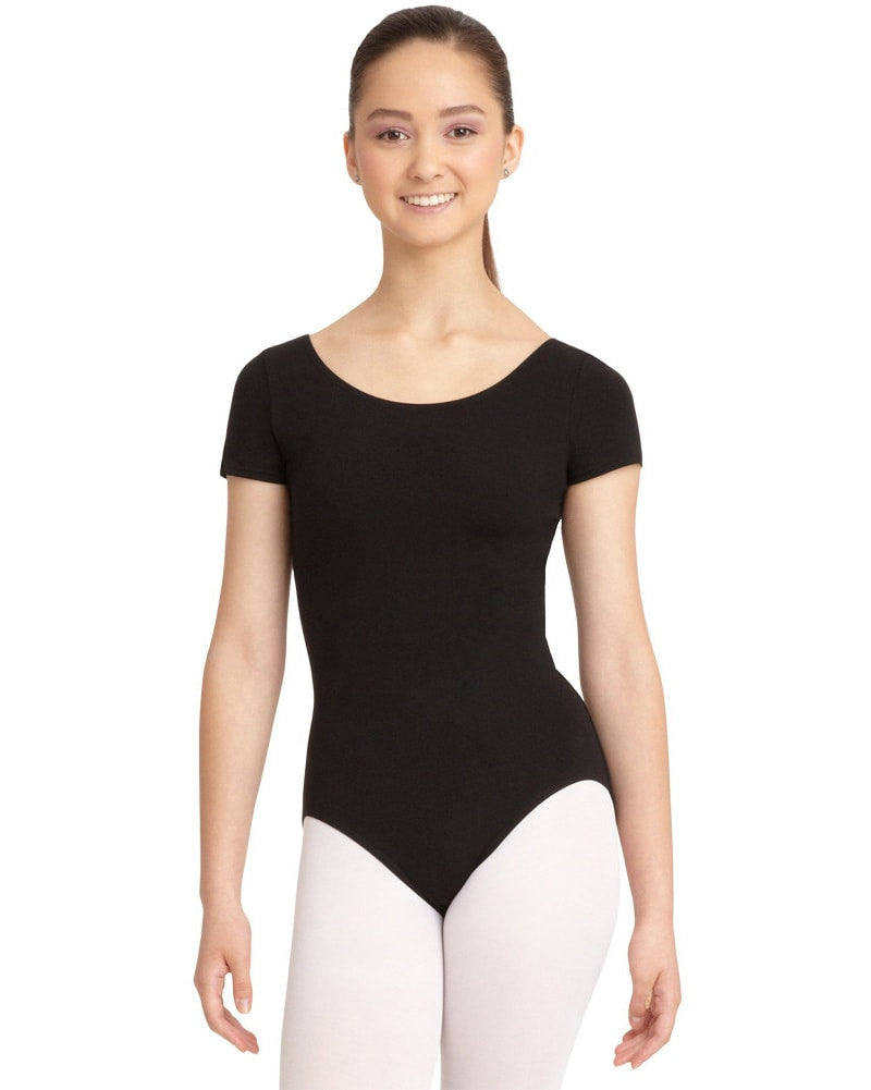 Capezio Classic Cotton Short Sleeve Leotard - CC400 Womens - Dancewear - Bodysuits & Leotards - Dancewear Centre Canada
