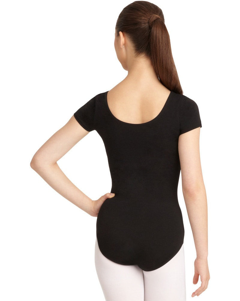 Capezio Classic Cotton Short Sleeve Leotard - CC400C Girls - Dancewear - Bodysuits & Leotards - Dancewear Centre Canada