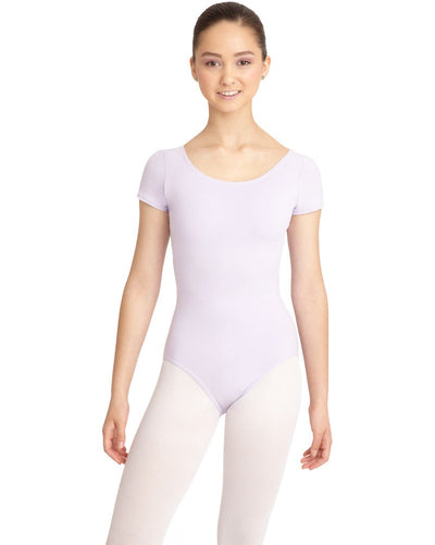 Capezio CC400 - Classic Cotton Short Sleeve Leotard Womens - Dancewear - Bodysuits & Leotards - Dancewear Centre Canada