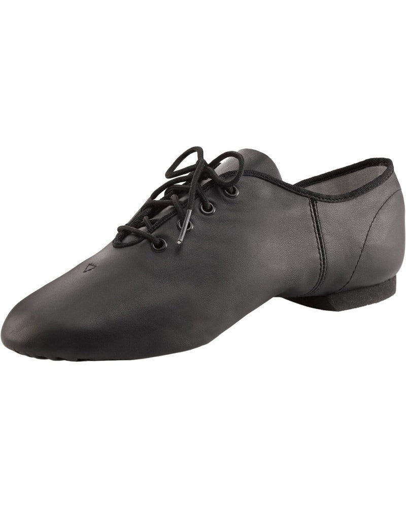 Capezio E-Series Leather Oxford Jazz Shoes - EJ1C Girls/Boys - Dance Shoes - Jazz Shoes - Dancewear Centre Canada