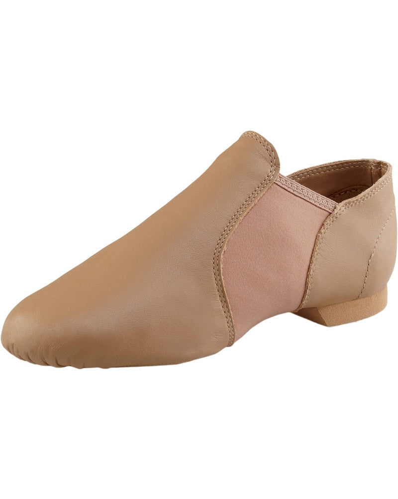Capezio E-Series Leather Slip On Jazz Shoes - EJ2C Girls/Boys - Dance Shoes - Jazz Shoes - Dancewear Centre Canada