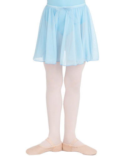 Capezio N1417C - Bow Detail Circle Cut Pull-On Ballet Skirt Girls - Dancewear - Skirts - Dancewear Centre Canada