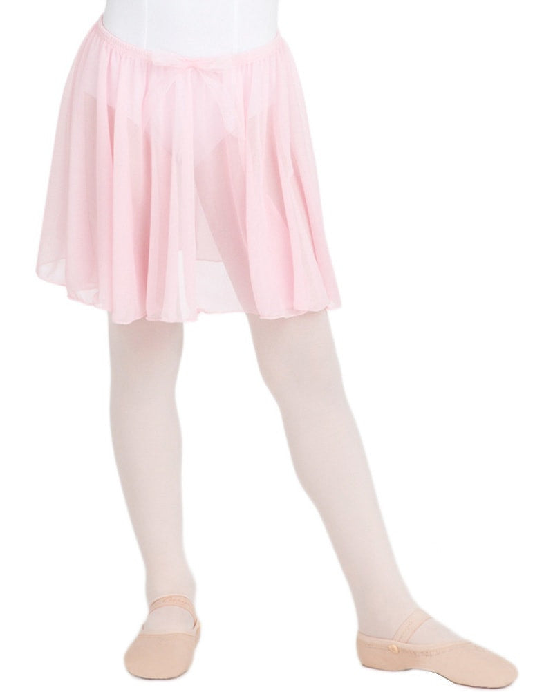 Capezio Bow Detail Circle Cut Pull-On Ballet Skirt - N1417C Girls