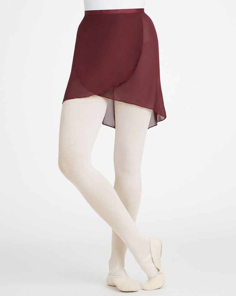 Capezio Mid Length Ballet Wrap Skirt - N272 Womens - Dancewear - Skirts - Dancewear Centre Canada