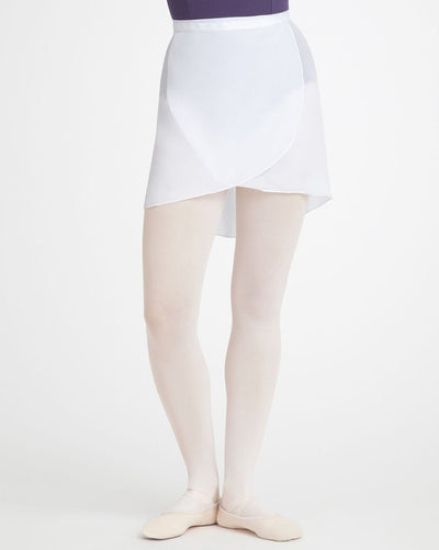 Capezio N272 - Mid Length Ballet Wrap Skirt Womens - Dancewear - Skirts - Dancewear Centre Canada