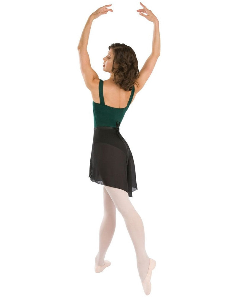 Capezio Georgette Long Wrap Ballet Skirt - N276 Womens