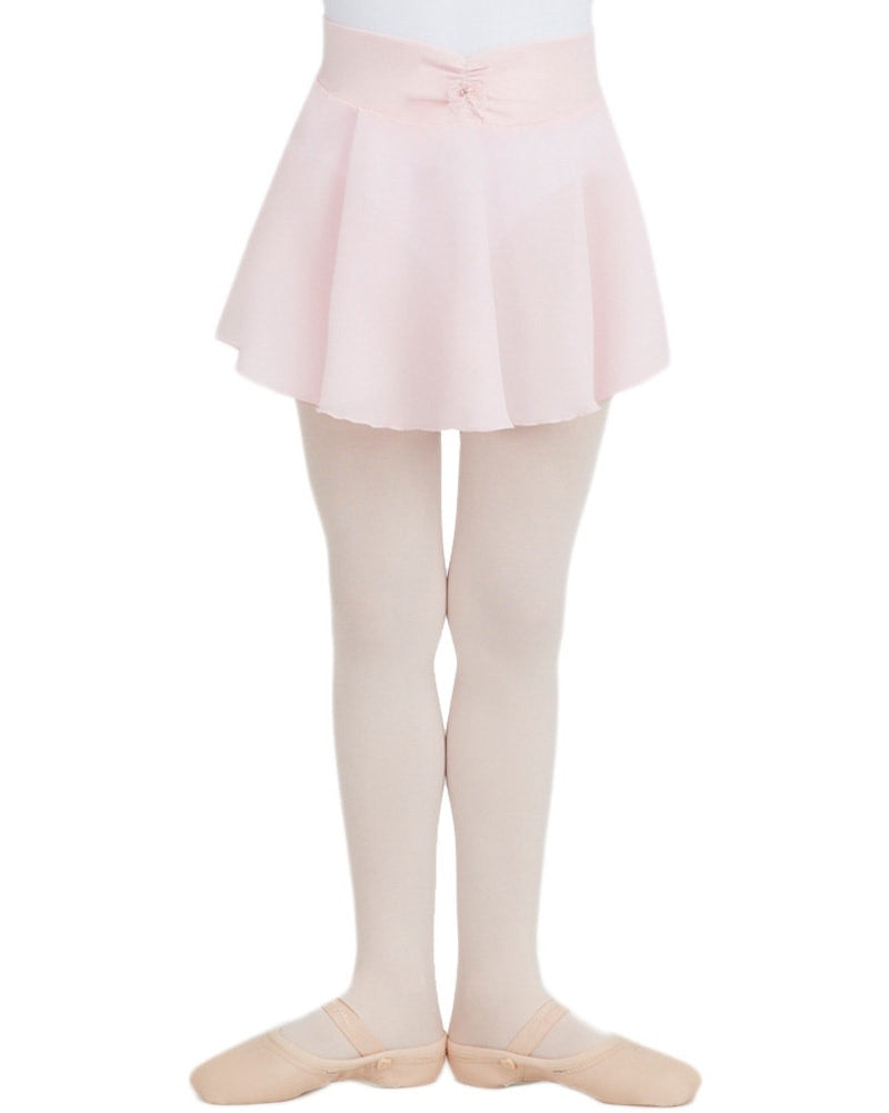Capezio Rhinestone Bow Pull-On Ballet Skirt - N9635C Girls