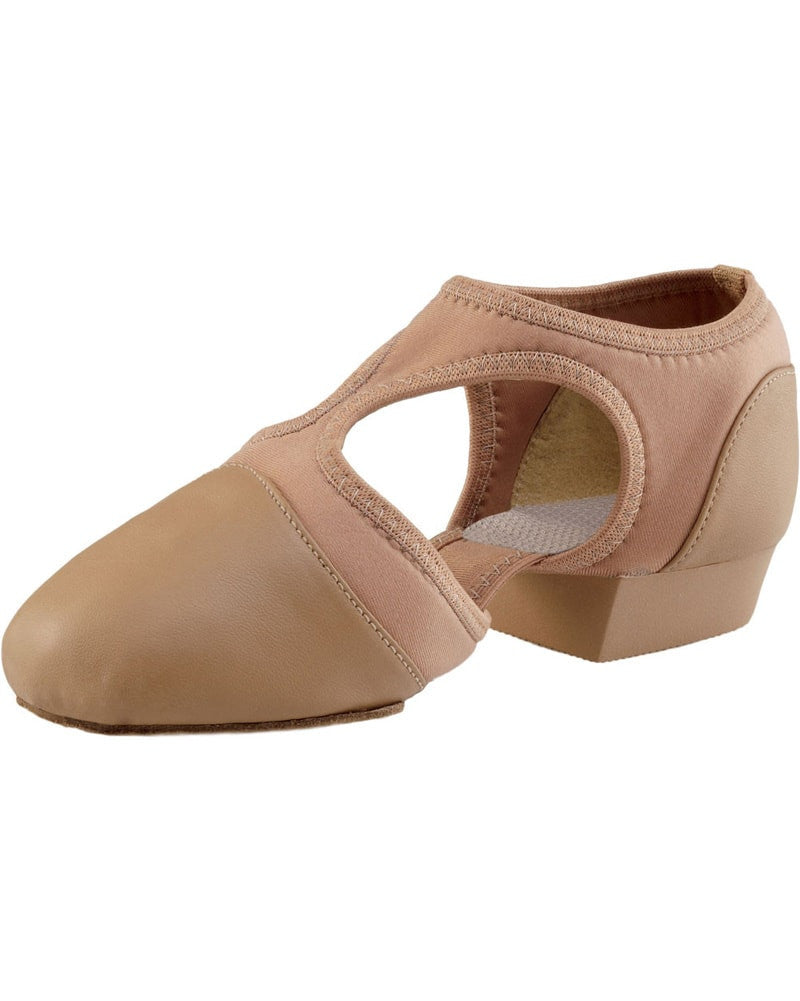 Capezio Pedini Femme Slip On Leather Jazz Teaching Shoes - PP323 Womens
