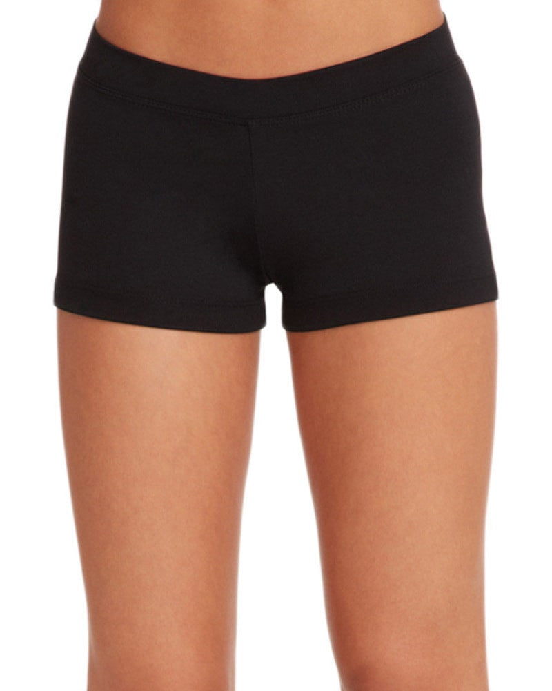 Capezio Team Basic Boy Cut Low Rise Dance Shorts - TB113C Girls