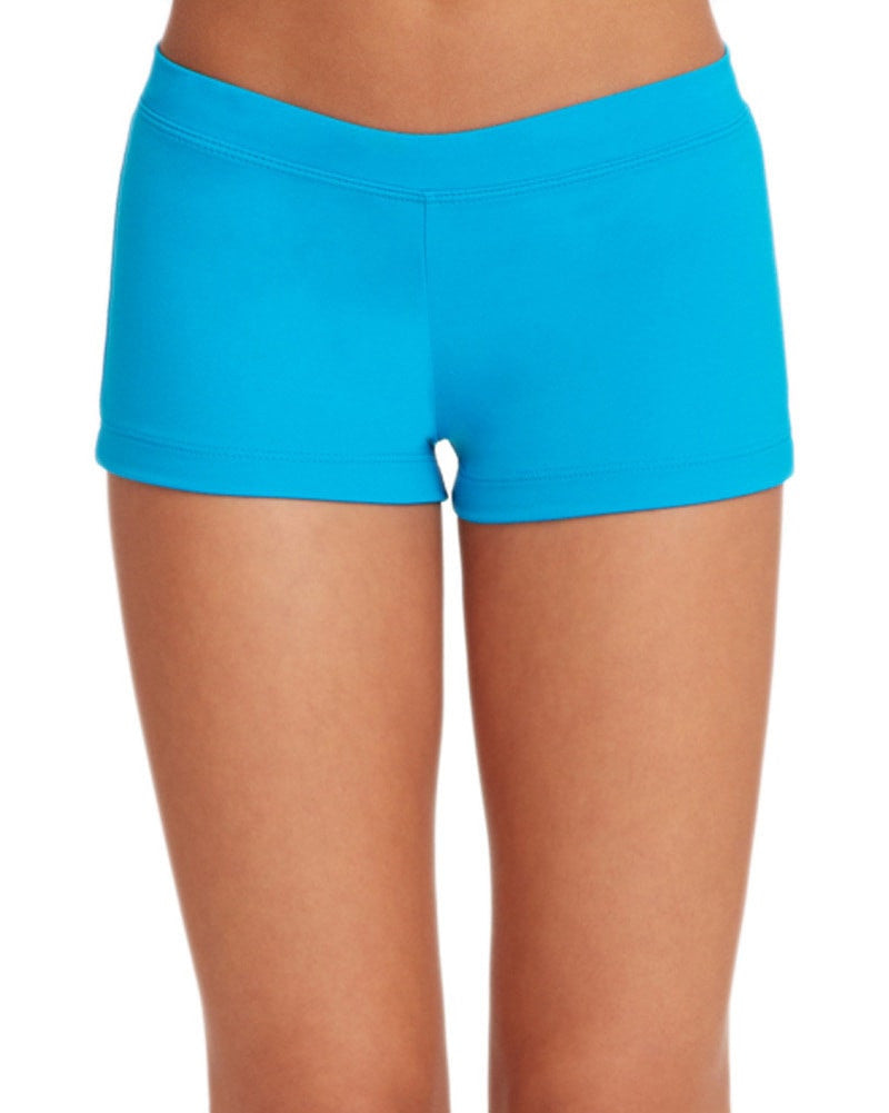 Capezio TB113 - Team Basic Boycut Lowrise Dance Shorts Womens