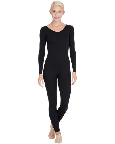 Capezio TB114C - Team Basic Long Sleeve Unitard Girls - Dancewear - Bodysuits & Leotards - Dancewear Centre Canada