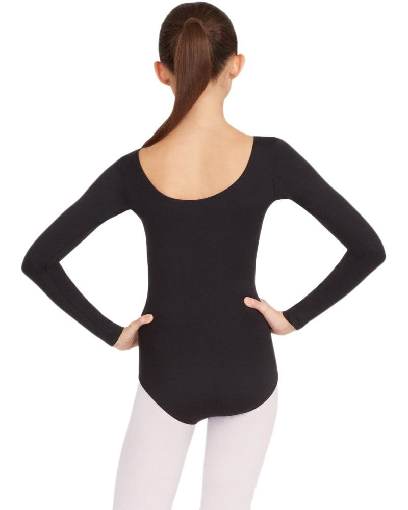 Capezio Team Basic Long Sleeve Leotard - TB135 Womens - Dancewear - Bodysuits & Leotards - Dancewear Centre Canada