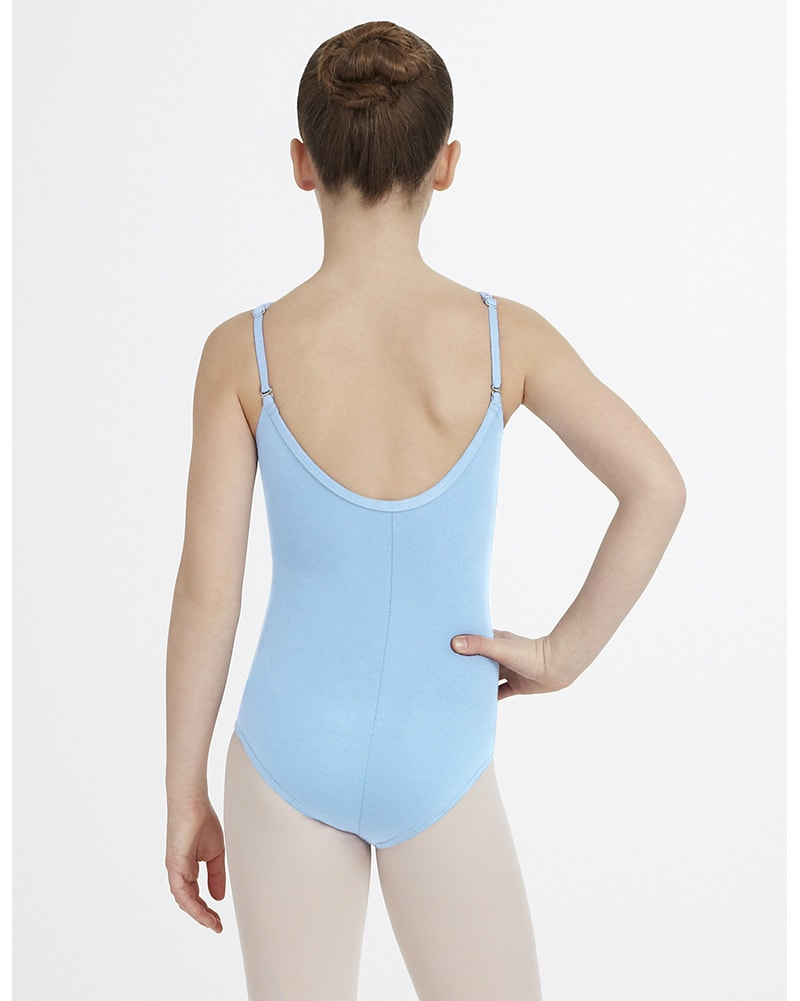 Capezio Adjustable Strap Camisole Leotard - TB1420C Girls - Dancewear - Bodysuits & Leotards - Dancewear Centre Canada