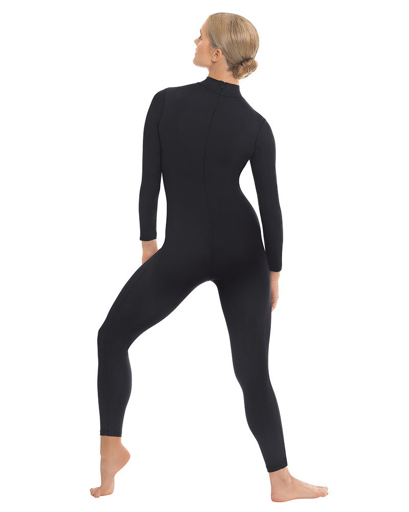 Eurotard Mock Neck Long Sleeve Unitard - 44132 Womens - Dancewear - Bodysuits & Leotards - Dancewear Centre Canada
