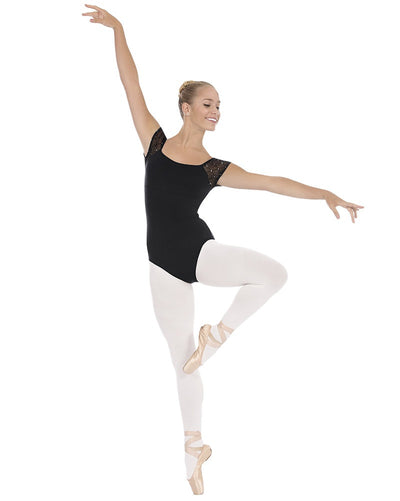 Eurotard Diamond Collection Trestle Back Cap Sleeve Leotard - 45881C Girls - Dancewear - Bodysuits & Leotards - Dancewear Centre Canada