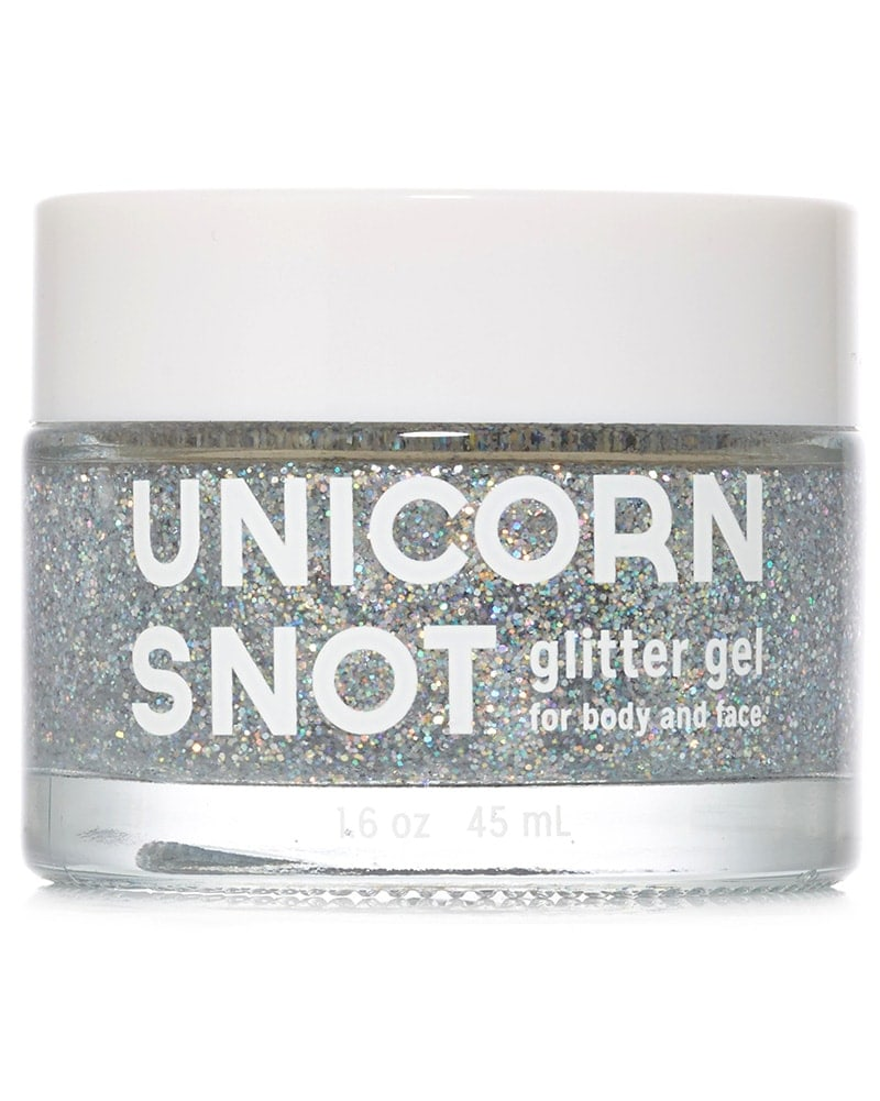 FCTRY Unicorn Snot Body, Face & Hair Glitter Gel - Silver