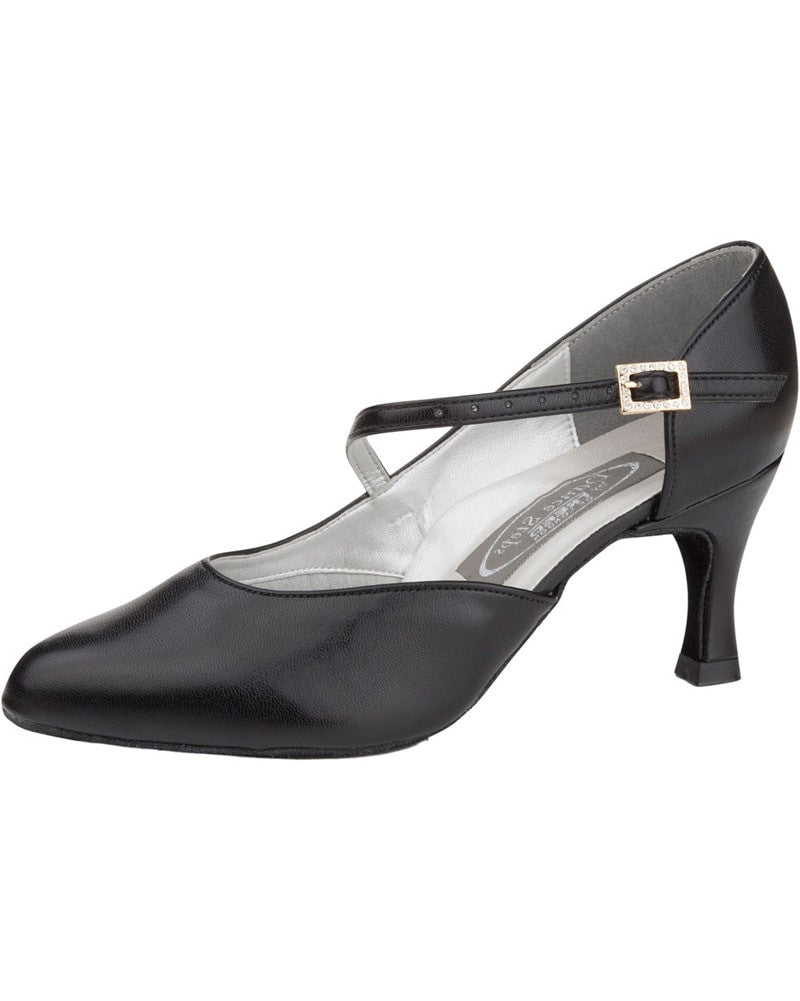"Freed Of London Foxtrot Closed Toe Court 2.5"" Latin Ballroom Shoes - Womens - Dance Shoes - Ballroom & Salsa Shoes - Dancewear Centre Canada"