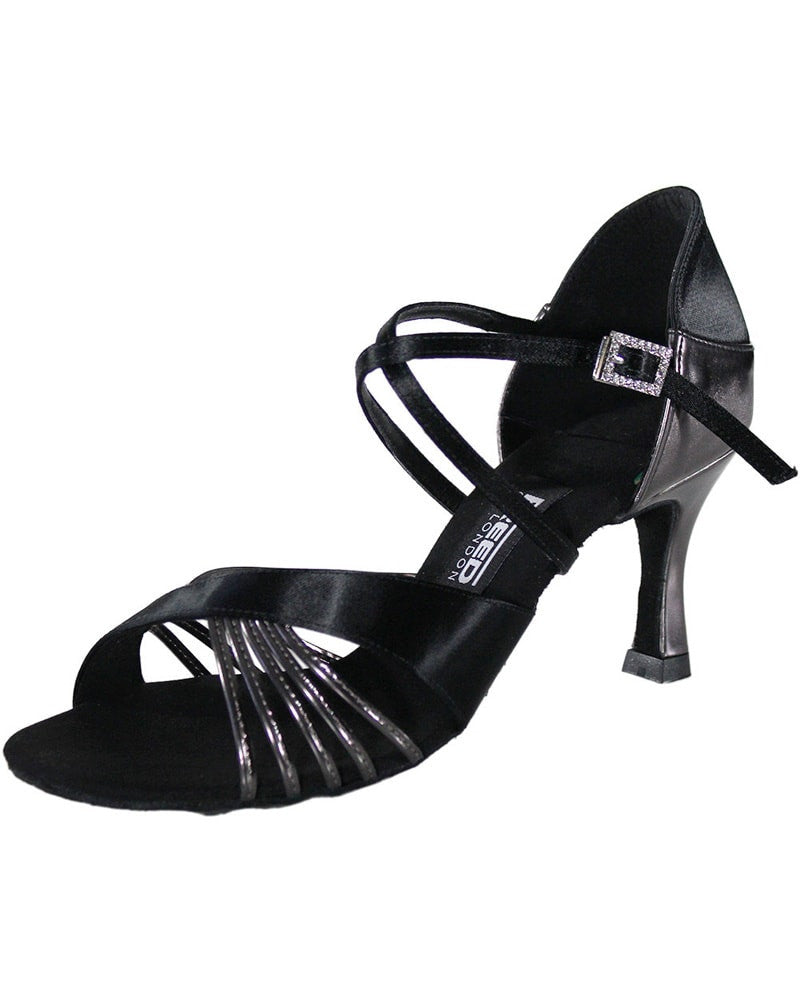 "Freed Of London - Zoe Crossover Strap 2.5"" Latin Ballroom Shoes Womens"