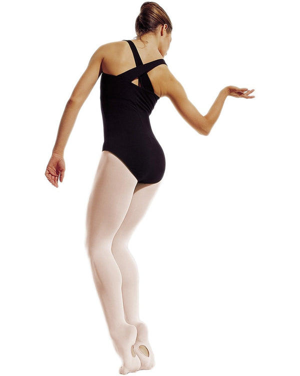 Gaynor Minden - Microfibre Convertible Dance Tights Womens - Dance Tights - Transition & Convertible Tights - Dancewear Centre Canada