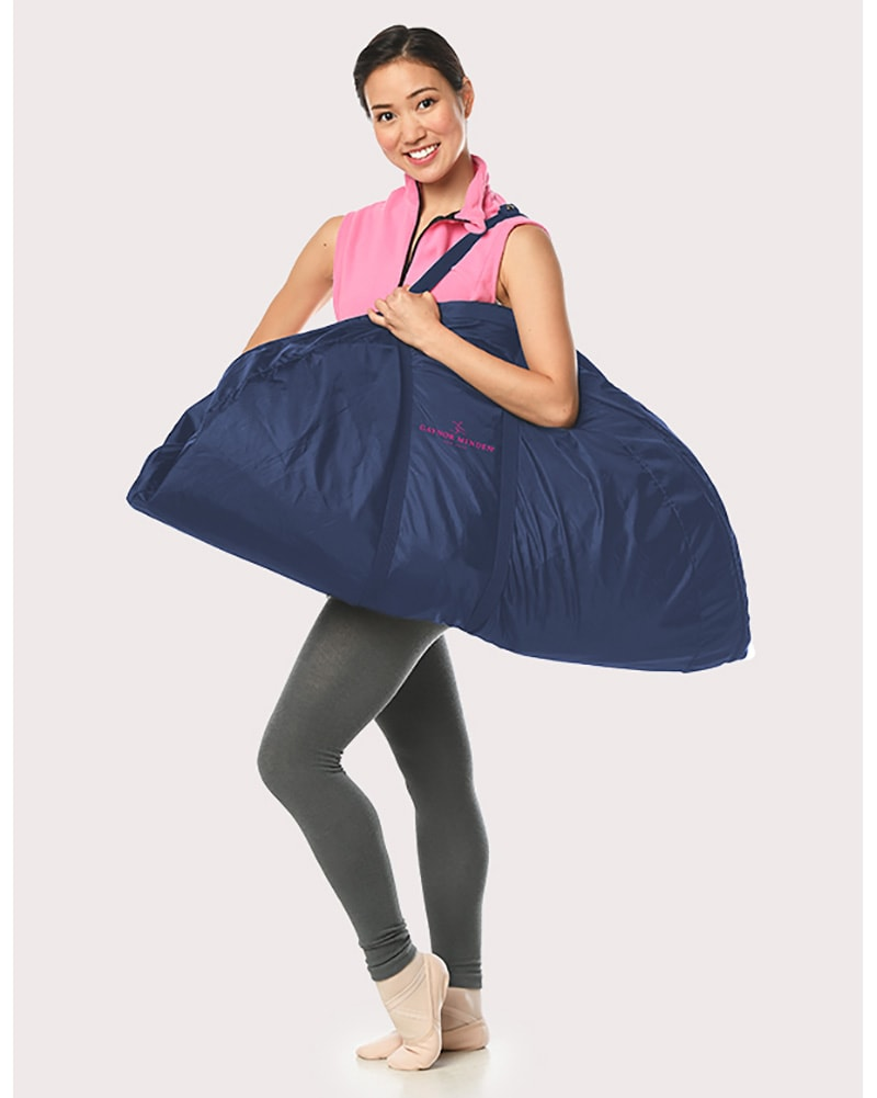 Gaynor Minden Ballet Tutu Protective Dance Bag - Navy/Light Pink - Accessories - Dance Bags - Dancewear Centre Canada