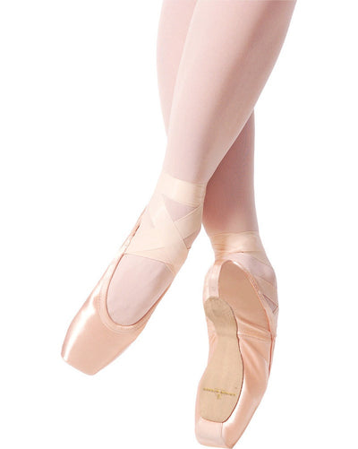 Gaynor Minden - Sleek Fit Extra Flex Shank Deep Vamp Low Heel Pointe Shoes Womens - Dance Shoes - Pointe Shoes - Dancewear Centre Canada