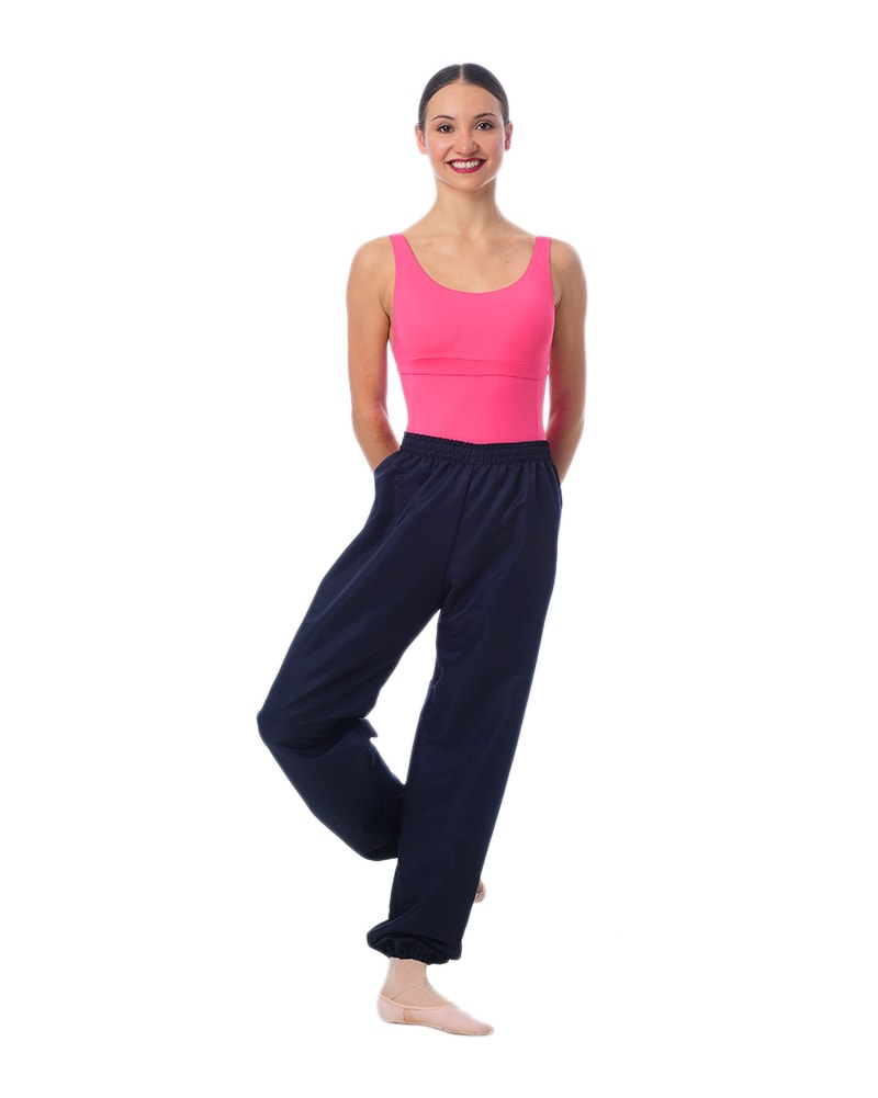 Gaynor Minden MicroTech Ripstop Warm-Up Dance Pants - Womens