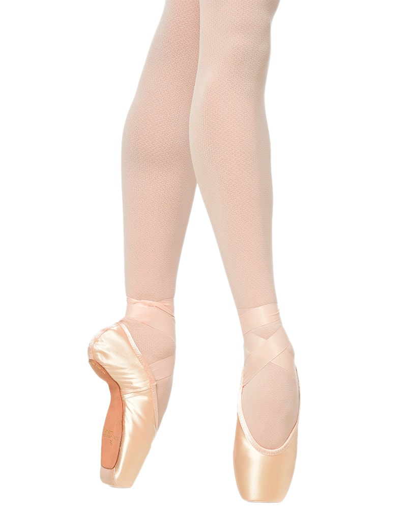 Gaynor Minden Sculpted Fit Pointe Shoes - Feather Flex Shank High Heel Deep Vamp - Womens - Dance Shoes - Pointe Shoes - Dancewear Centre Canada