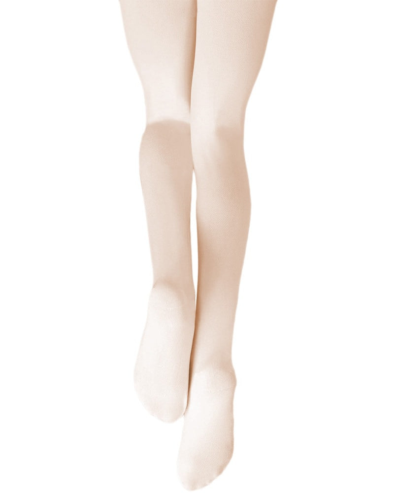 Gaynor Minden - Microfibre Footed Dance Tights Girls - Dance Tights - Footed Tights - Dancewear Centre Canada