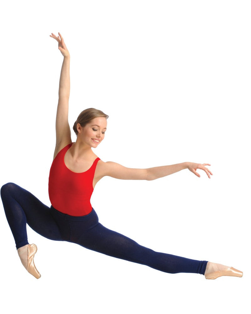 45966107f9bc8 Gaynor Minden - Knit Footless Sweater Warmup Dance Tights Womens - Dance  Tights - Footless Tights