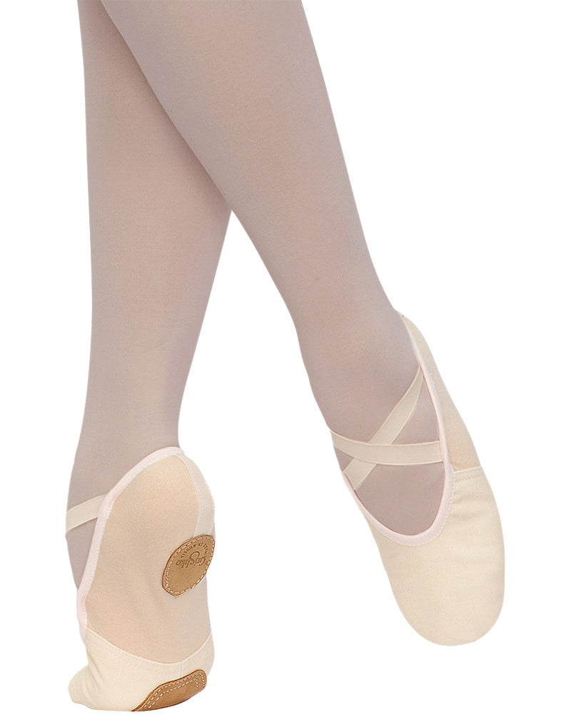 Grishko 1007 - Synergy Stretch Canvas Split Sole Ballet Slippers Womens - Dance Shoes - Ballet Slippers - Dancewear Centre Canada