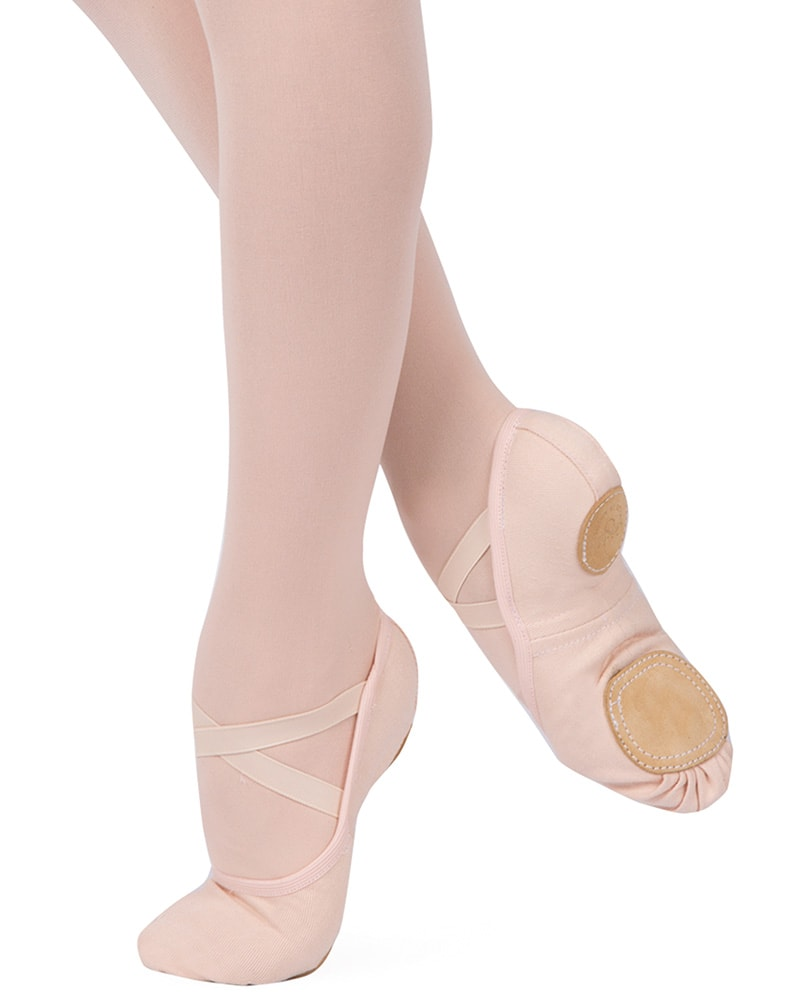 Grishko 1011C - Dream Stretch Canvas Split Sole Ballet Slippers Womens - Dance Shoes - Ballet Slippers - Dancewear Centre Canada