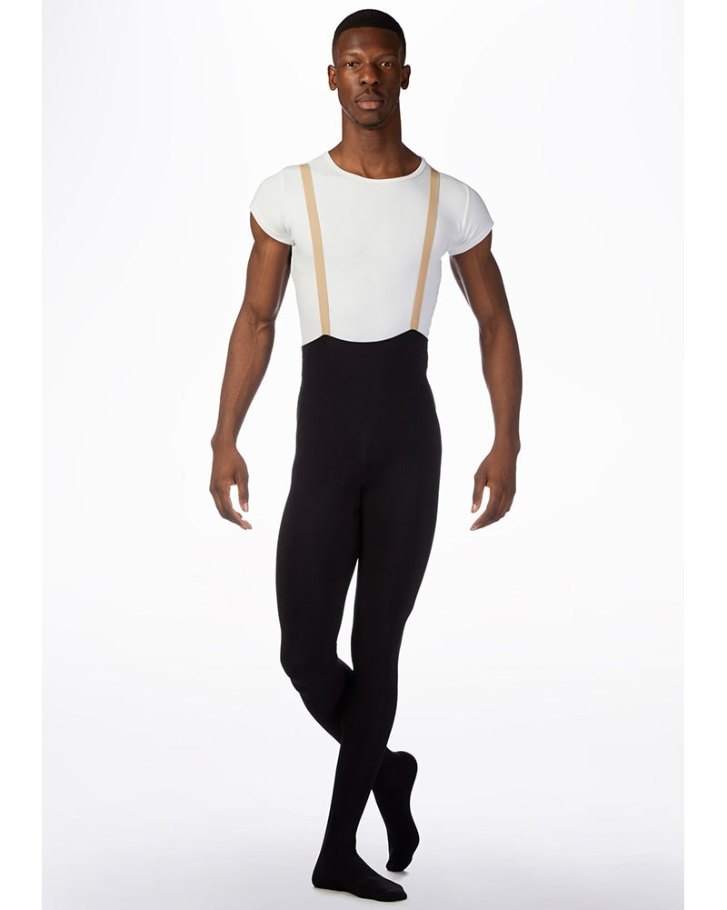 Grishko Dream High Waist with Straps Footed Dance Tights - 2111 Mens - Dance Tights - Mens & Boys Tights - Dancewear Centre Canada