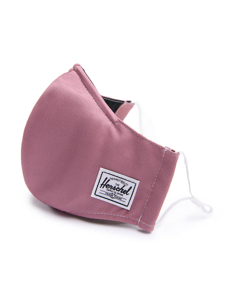 Herschel Supply Co - Fitted Face Mask - Womens/Mens - Ash Rose - Accessories - Masks - Dancewear Centre Canada
