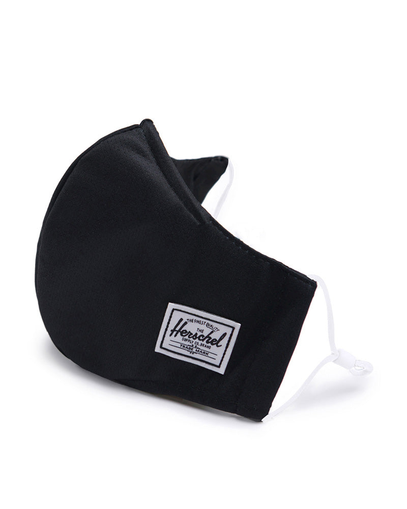 Herschel Supply Co - Fitted Face Mask - Womens/Mens - Black - Accessories - Masks - Dancewear Centre Canada