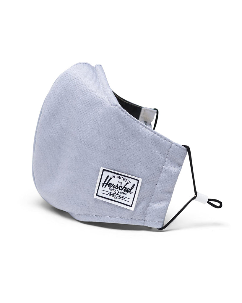 Herschel Supply Co - Fitted Face Mask - Womens/Mens - Light Grey - Accessories - Masks - Dancewear Centre Canada