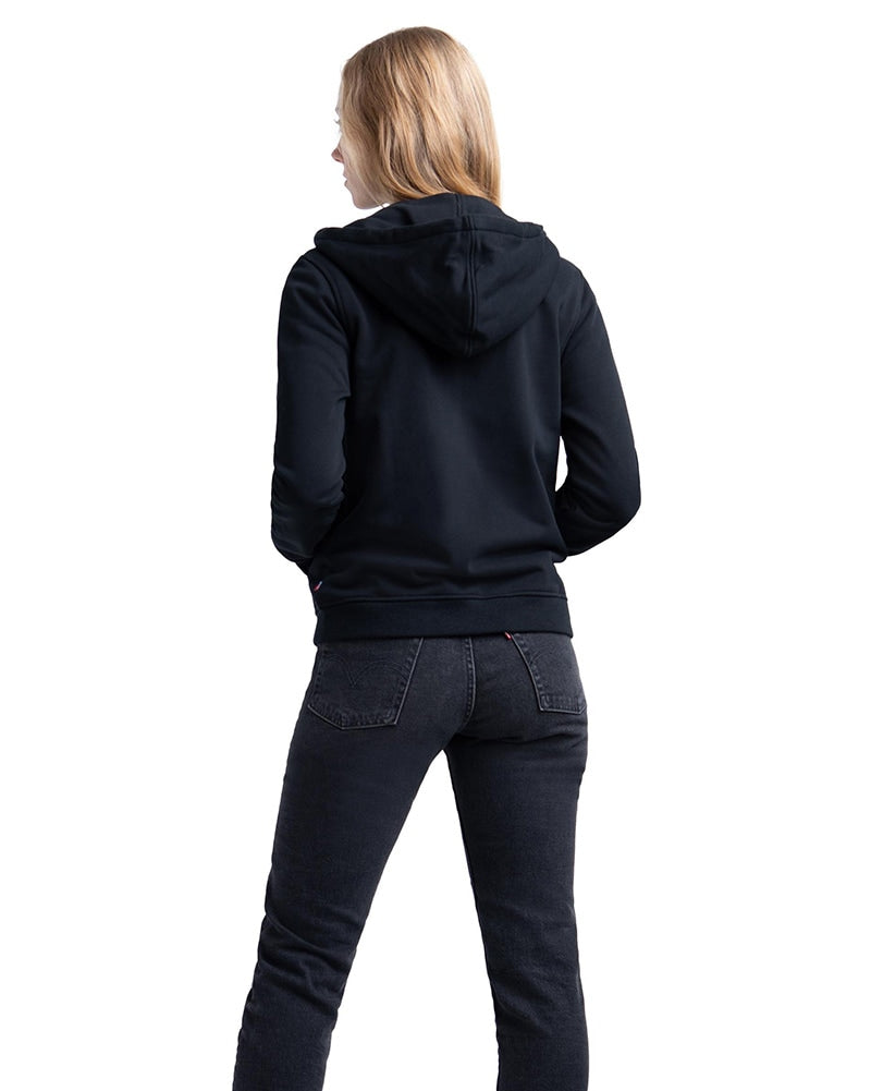 Herschel Supply Co Full Zip Hoodie - Womens - Black - Dancewear - Tops - Dancewear Centre Canada
