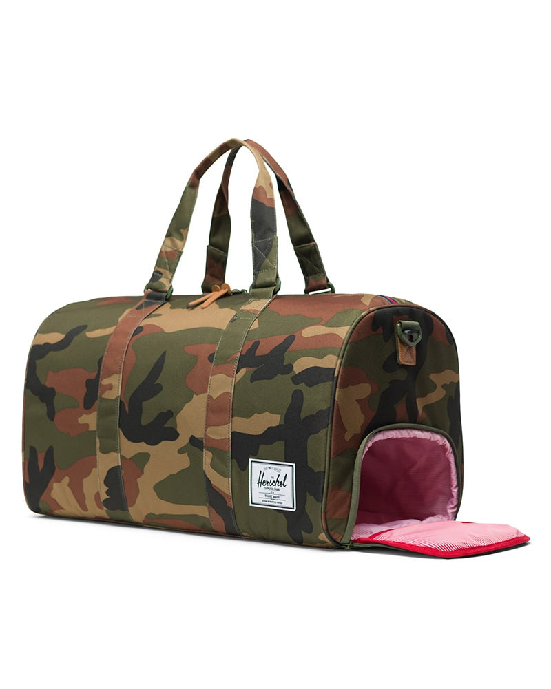 Herschel Supply Co Novel Duffle Bag - Woodland Camo - Accessories - Dance Bags - Dancewear Centre Canada