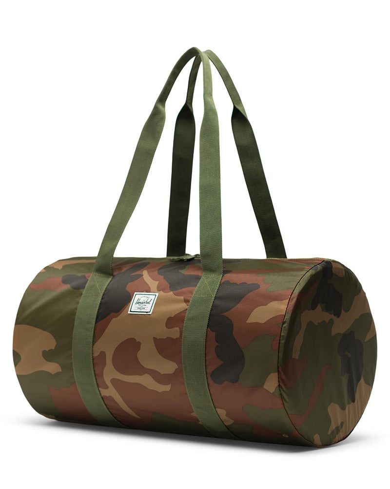Herschel Supply Co Packable Duffle Bag - Woodland Camo - Accessories - Dance Bags - Dancewear Centre Canada