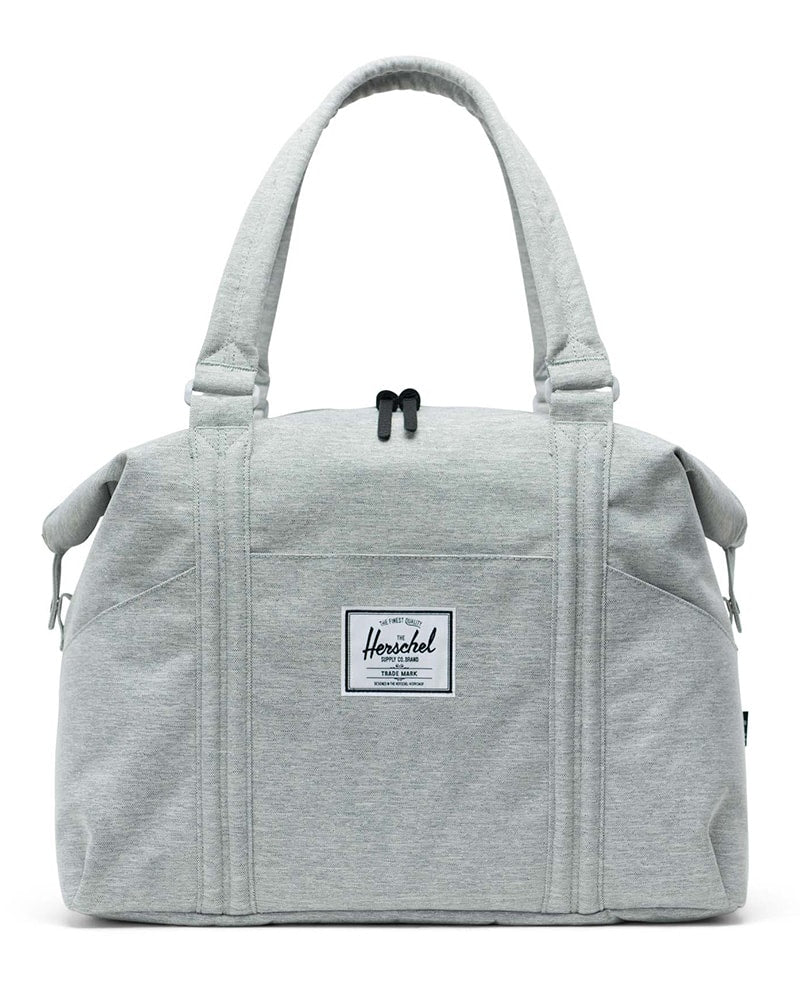Herschel Supply Co Strand Duffle Bag - Light Grey Crosshatch - Accessories - Dance Bags - Dancewear Centre Canada