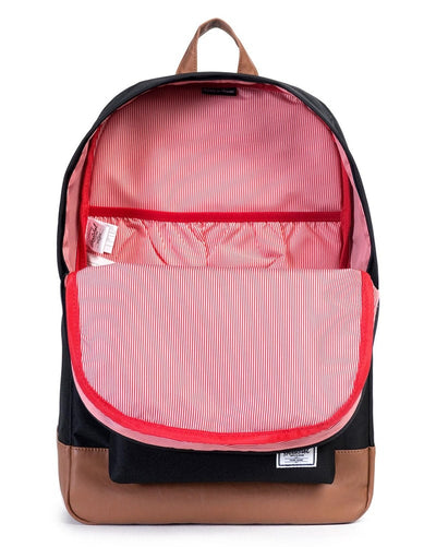 Herschel Supply Co - Heritage Backpack Black/Tan - Accessories - Dance Bags - Dancewear Centre Canada