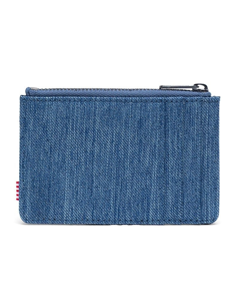 Herschel Supply Co - Oscar Zip Wallet Faded Denim