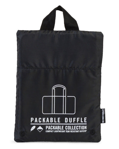 Herschel Supply Co - Packable Duffle Bag Black - Accessories - Dance Bags - Dancewear Centre Canada