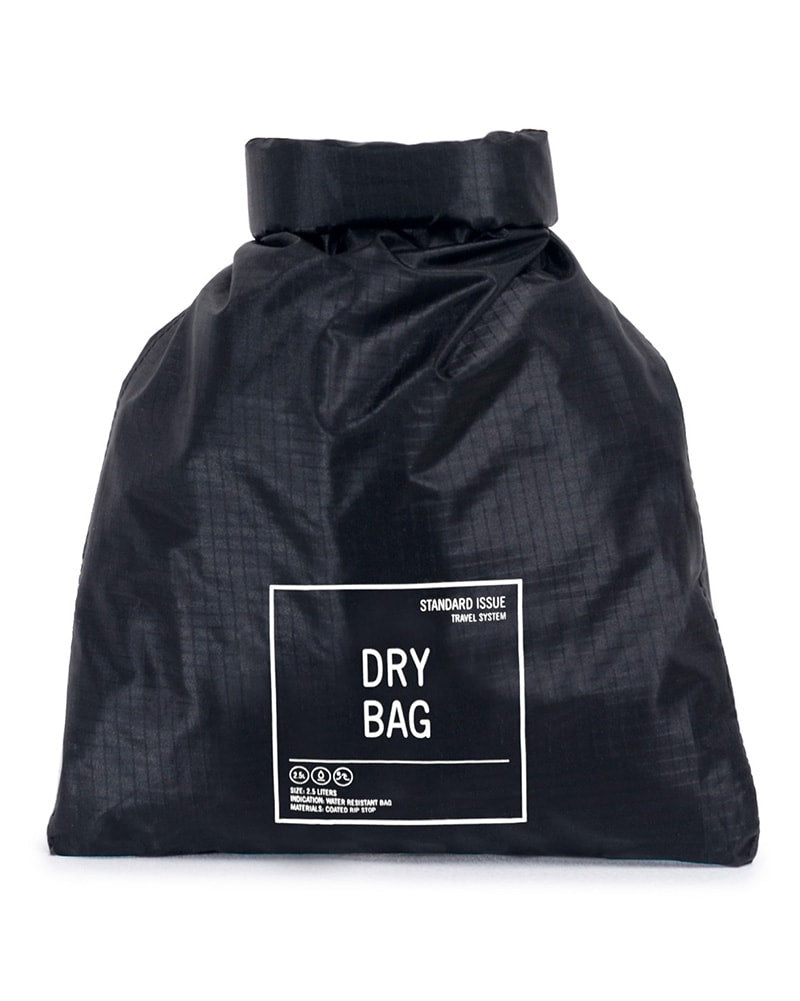 Herschel Supply Co Ripstop Dry Bag - Black