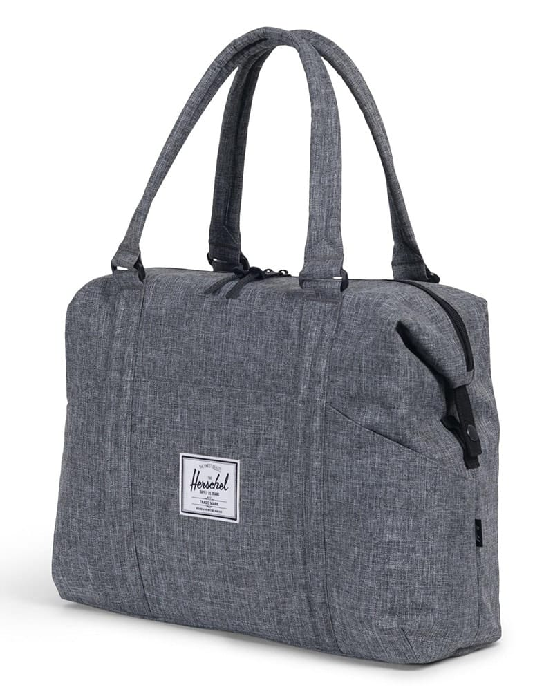 Herschel Supply Co Strand Duffle Bag - Raven Crosshatch - Accessories - Dance Bags - Dancewear Centre Canada