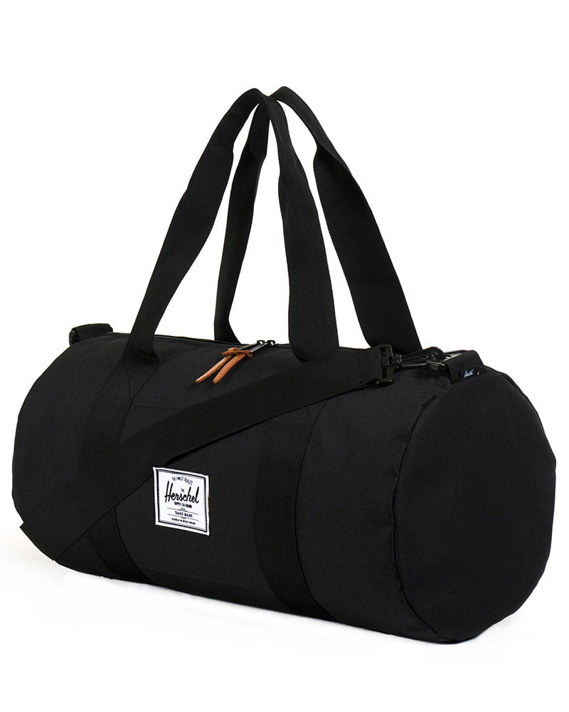 Herschel Supply Co Sutton Mid Volume Duffle - Black - Accessories - Dance Bags - Dancewear Centre Canada