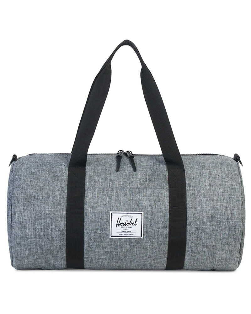 Herschel Supply Co Sutton Mid Volume Duffle - Raven Crosshatch/Black