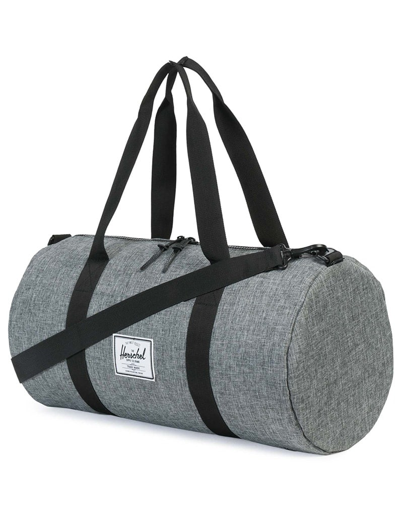 Herschel Supply Co - Sutton Mid Volume Duffle Raven Crosshatch