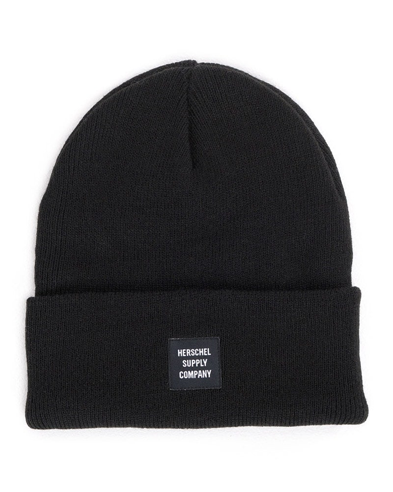 Herschel Supply Co Abbott Beanie - Black - Accessories - Hats - Dancewear Centre Canada