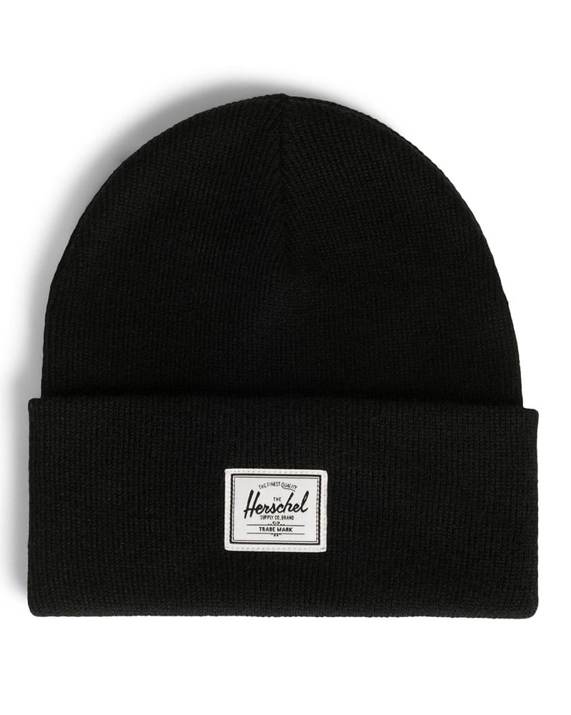 Herschel Supply Co Elmer Beanie - Black - Accessories - Hats - Dancewear Centre Canada