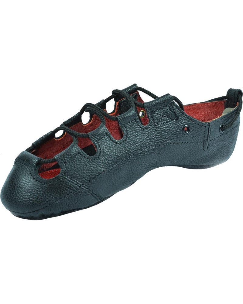 Hullachan Hullachan Pro Embrace H4 Supple Leather Irish Pumps - H4 Womens - Dance Shoes - Highland Shoes - Dancewear Centre Canada